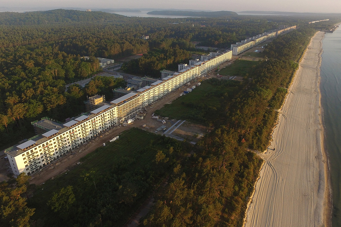 Prora Ruegen Nazi Germany holiday camp