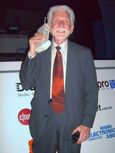Martin Cooper, father of the mobile phone