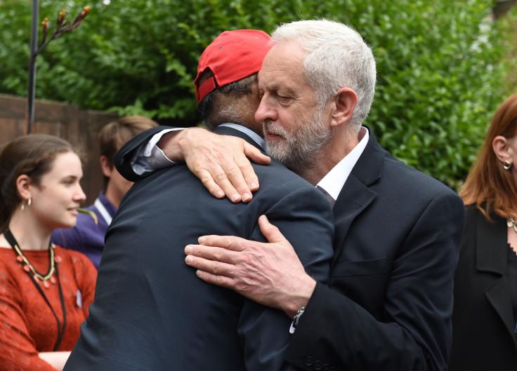 Jeremy Corbyn Grenfell Tower