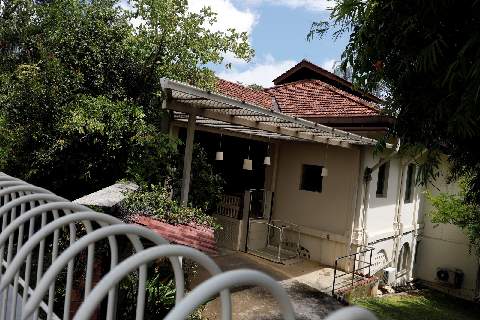 Lee Kuan Yew's bungalow at 38 Oxley Road