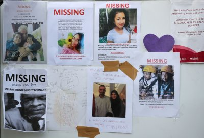 Grenfell Tower fire missing