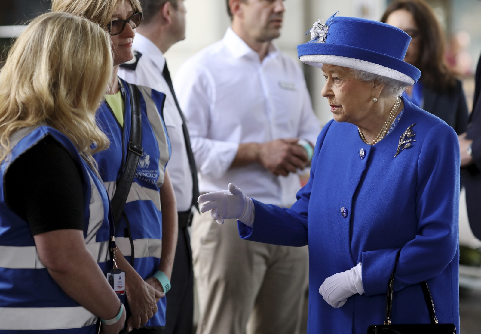 Grenfell Tower fire the Queen