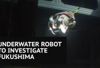 'Little Sunfish' underwater robot to inspect Fukushima nuclear plant damage