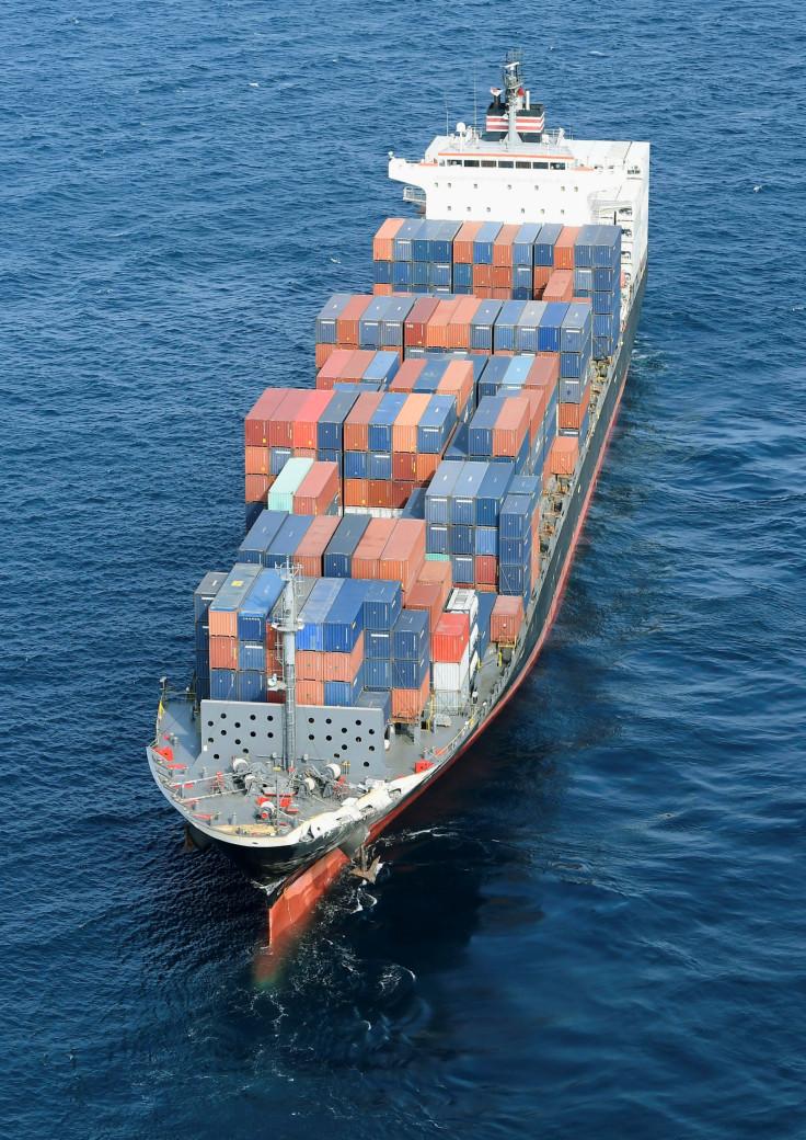 Philippine-flagged merchant vessel