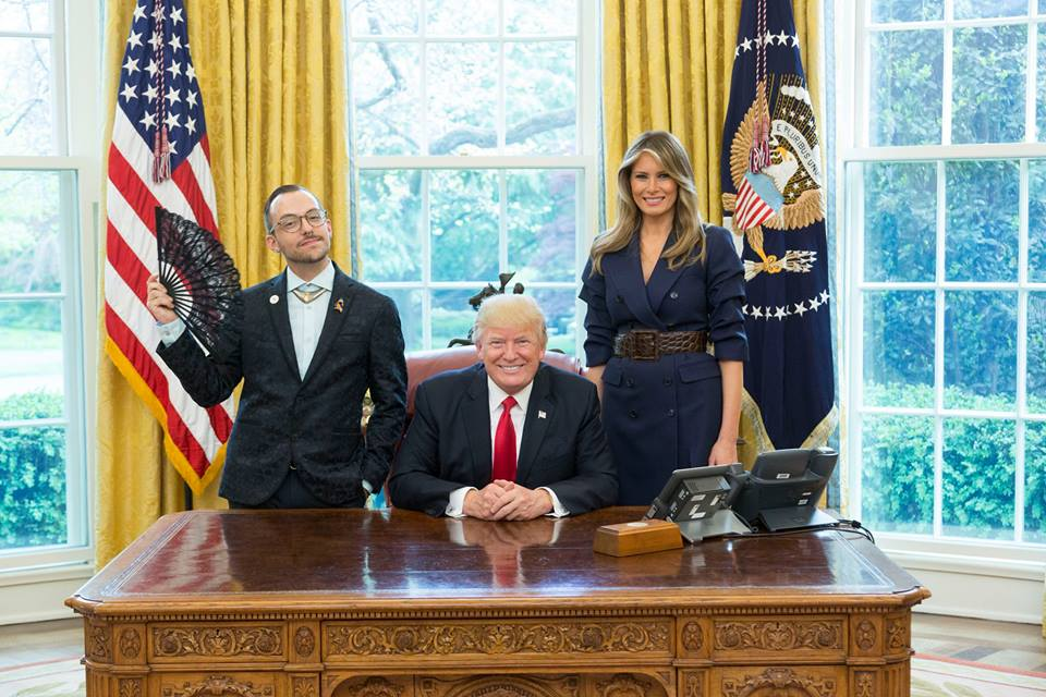 Nikos Giannopoulos and Donald Trump