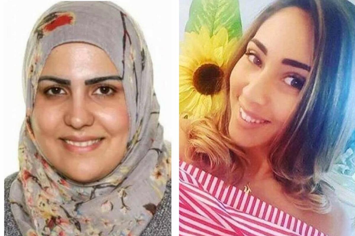 Nadia Choucair and Mariem Elgwahry