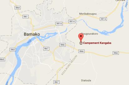 Map of Mali resort attack