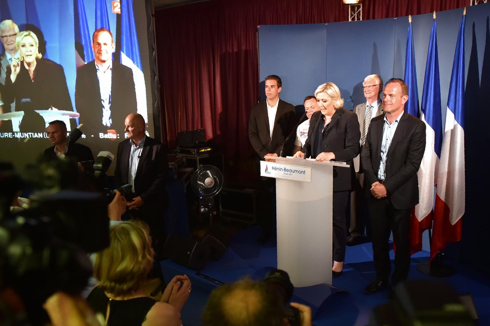 Marine Le Pen wins parliamentary seat