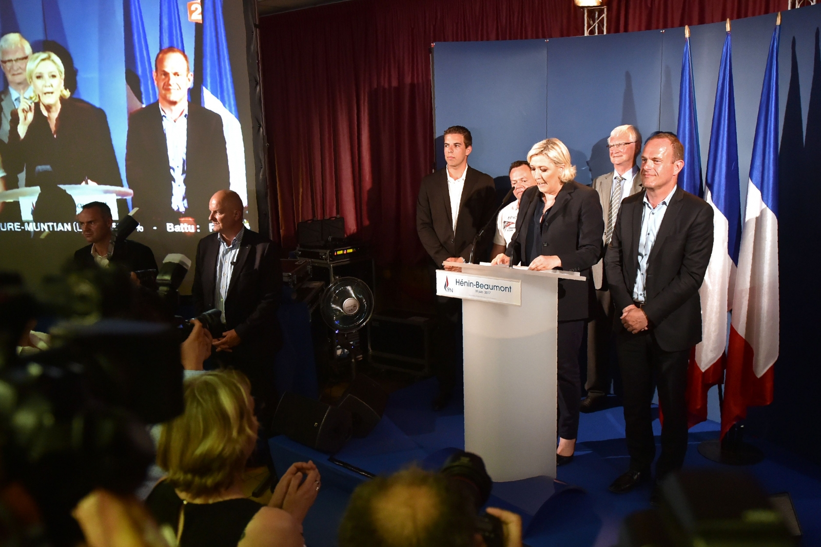 Marine Le Pen wins parliamentary seat