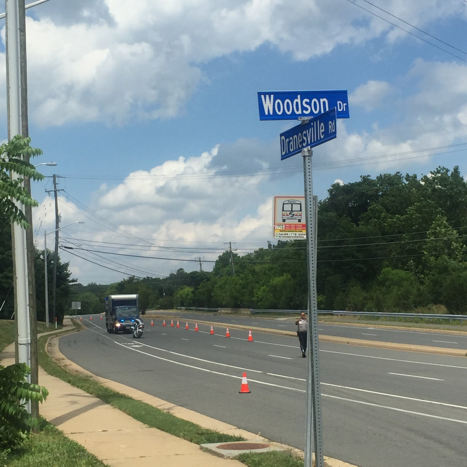 Streets where Virginia teen went missing