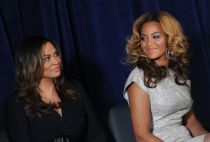 Tina Knowles and Beyonce