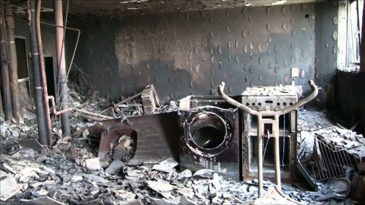 Haunting Footage Shows Inside Of Grenfell Tower Destroyed By Fire