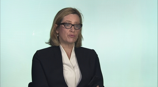 Amber Rudd defends delay in terrorist incident
