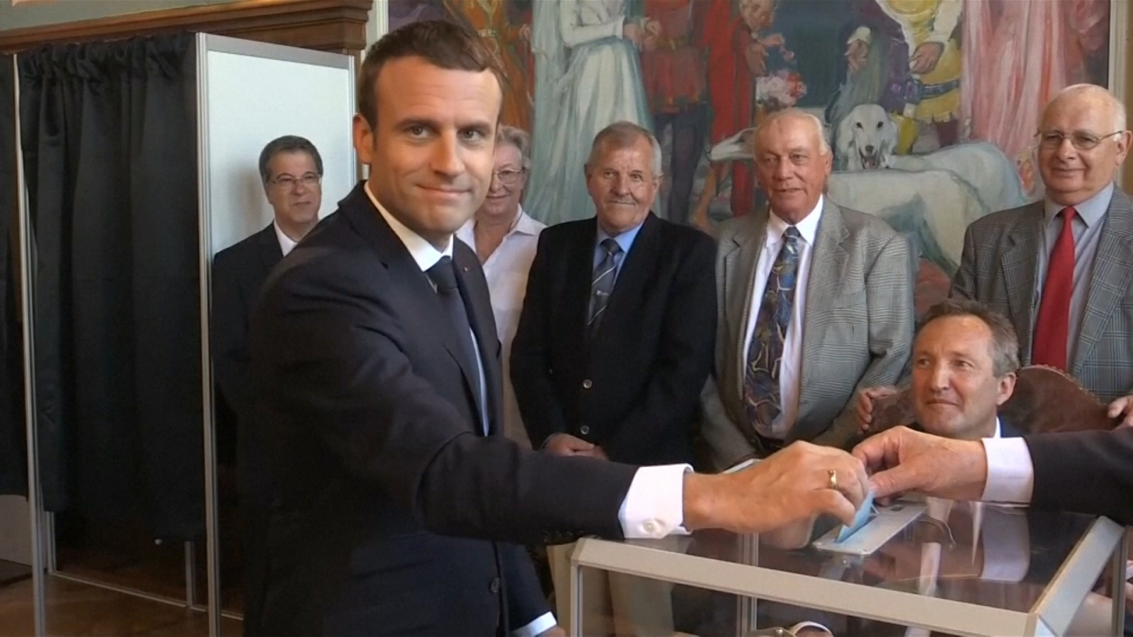 Emmanuel Macron's Party Wins Large Majority In French Parliament
