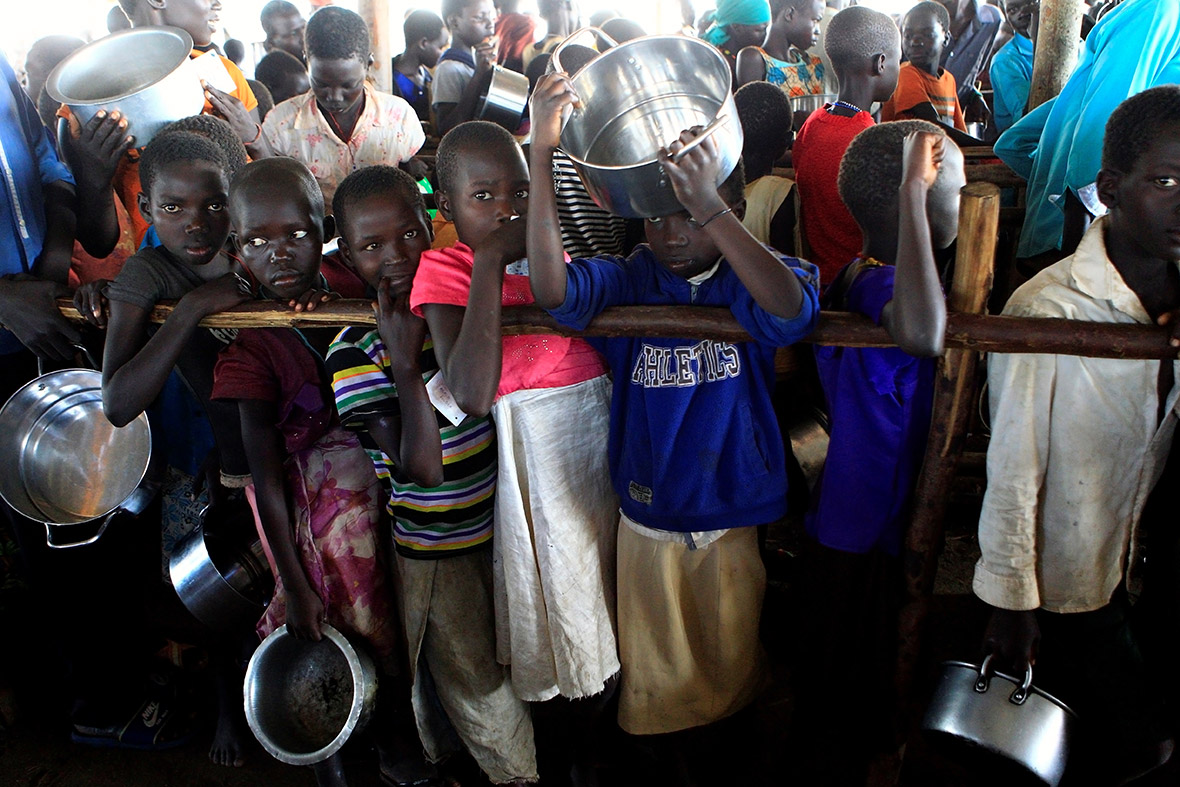 South Sudan refugees