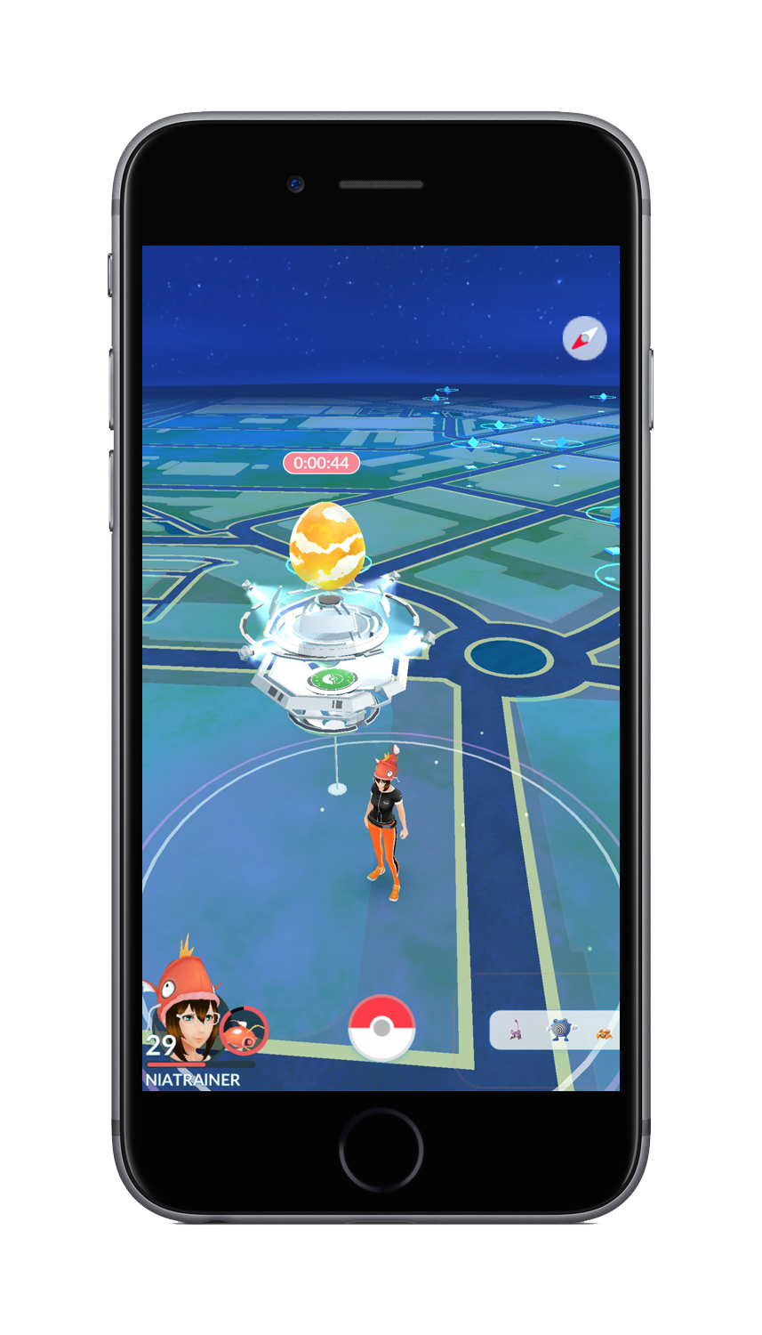 Pokemon Go new gym map