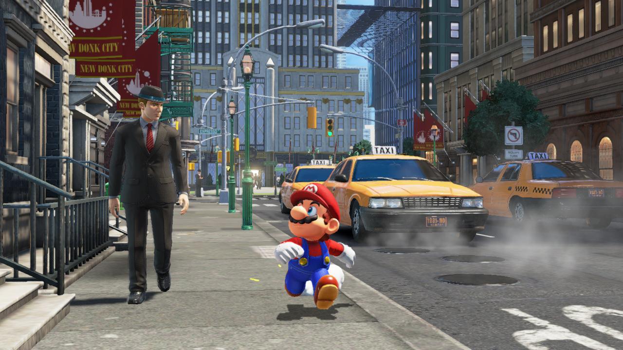 Super Mario Odyssey New Donk City