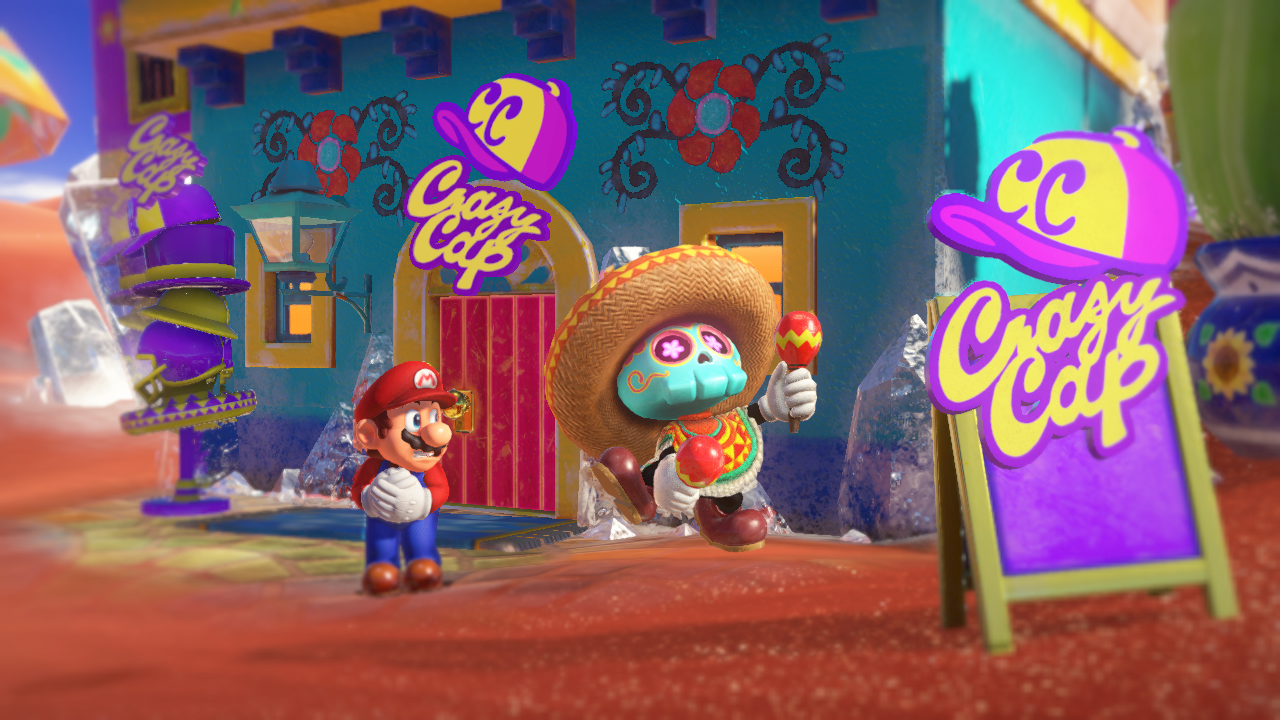 Super Mario Odyssey Sand Kingdom