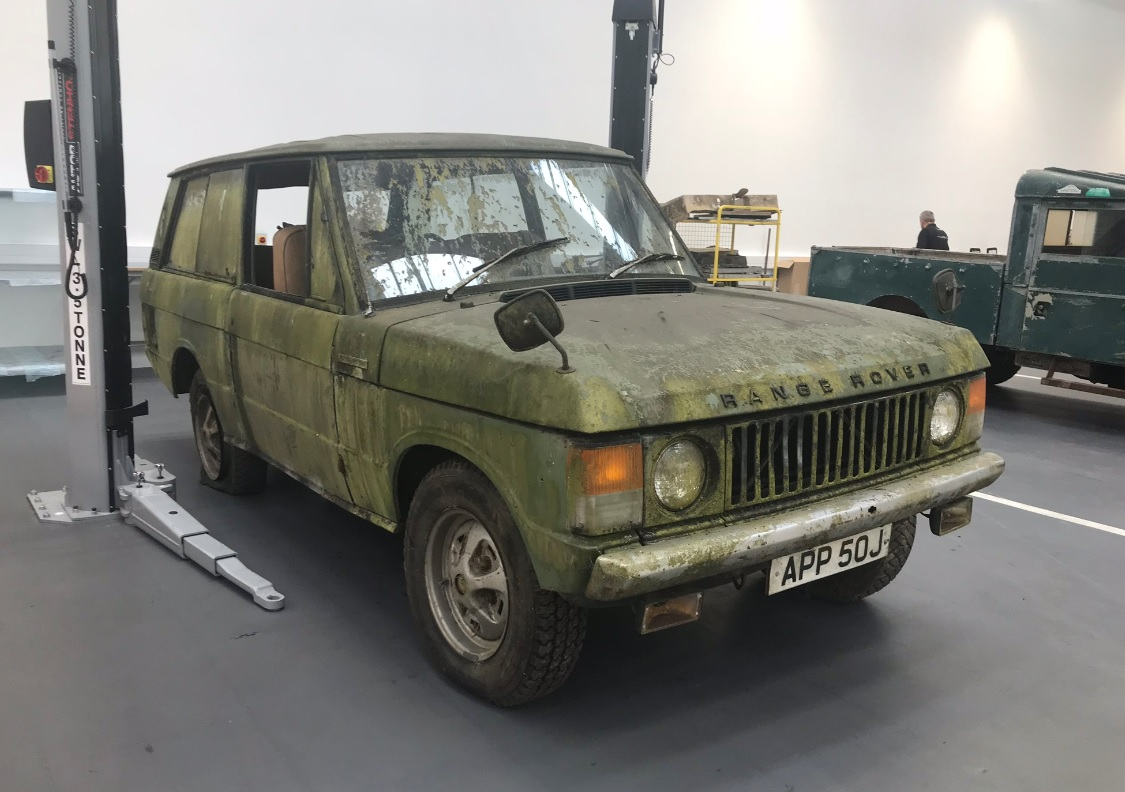 Range Rover Classic at Classic Works