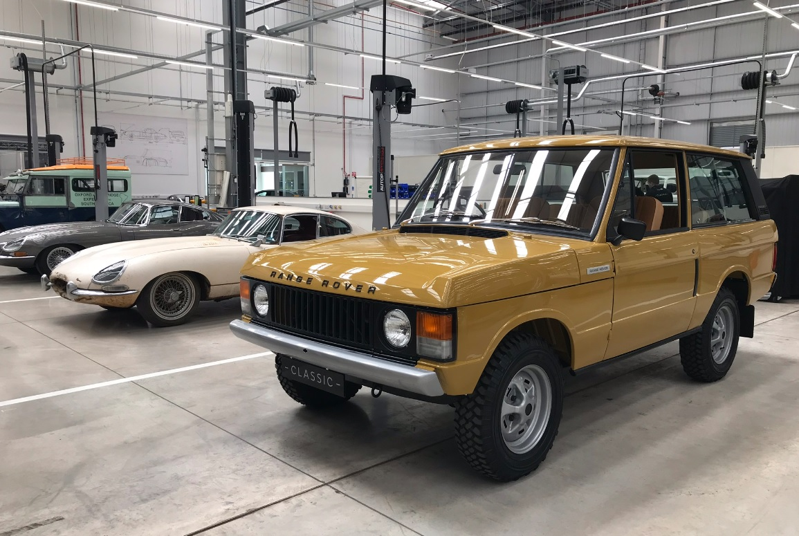Range Rover Classic at JLR Classic Works