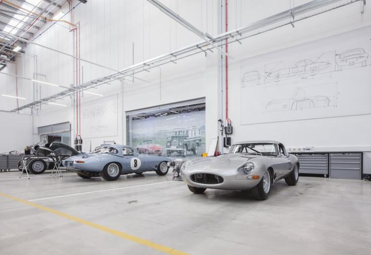Lightweight Jaguar E-Type