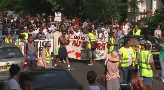 March for Grenfell Tower fire victims