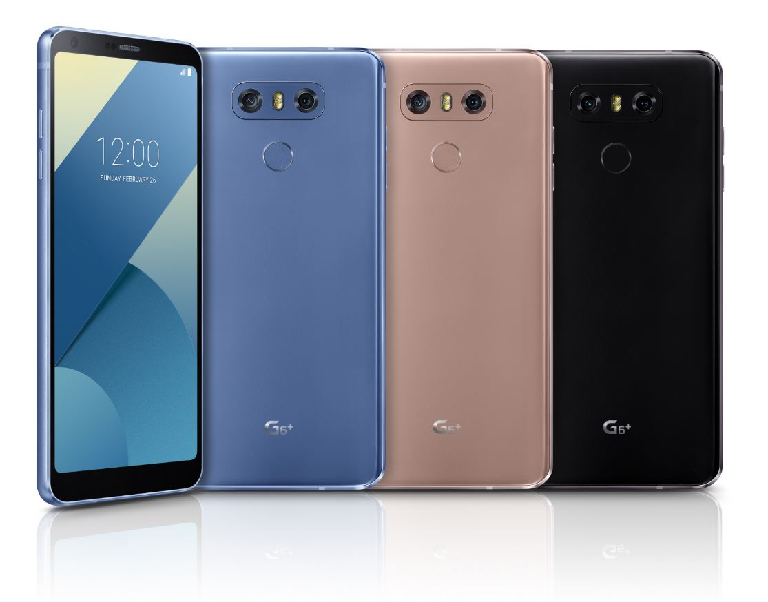 LG unveiled G6+