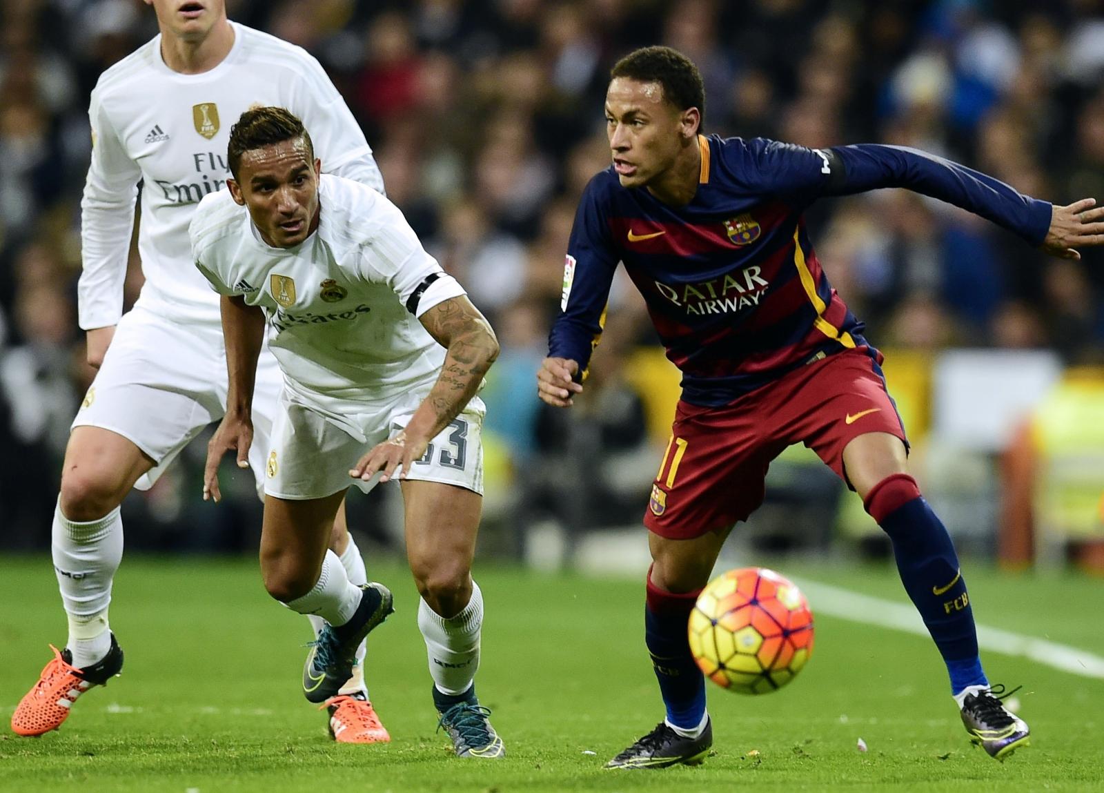Danilo and Neymar