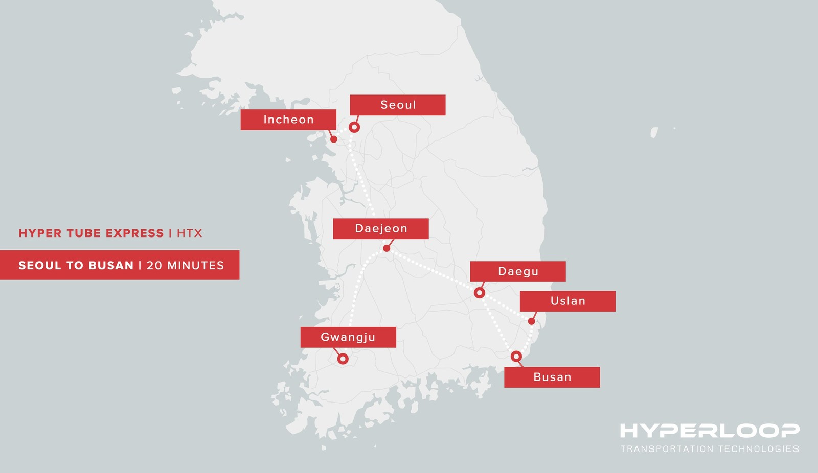 What is HyperTube Express? South Korea to soon build a full scale Hyperloop system