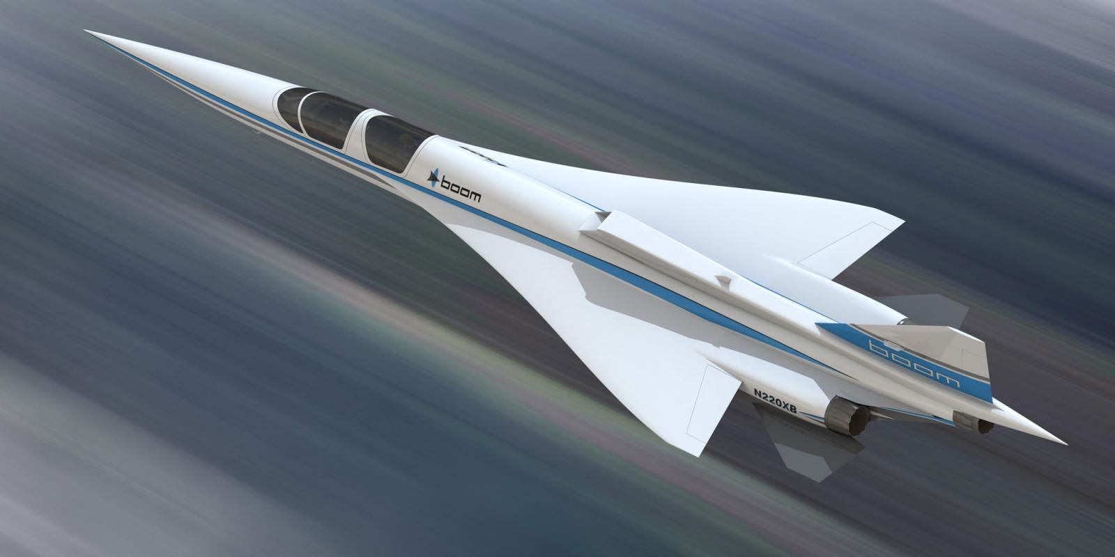Boom Supersonic XB-1 Demonstrator