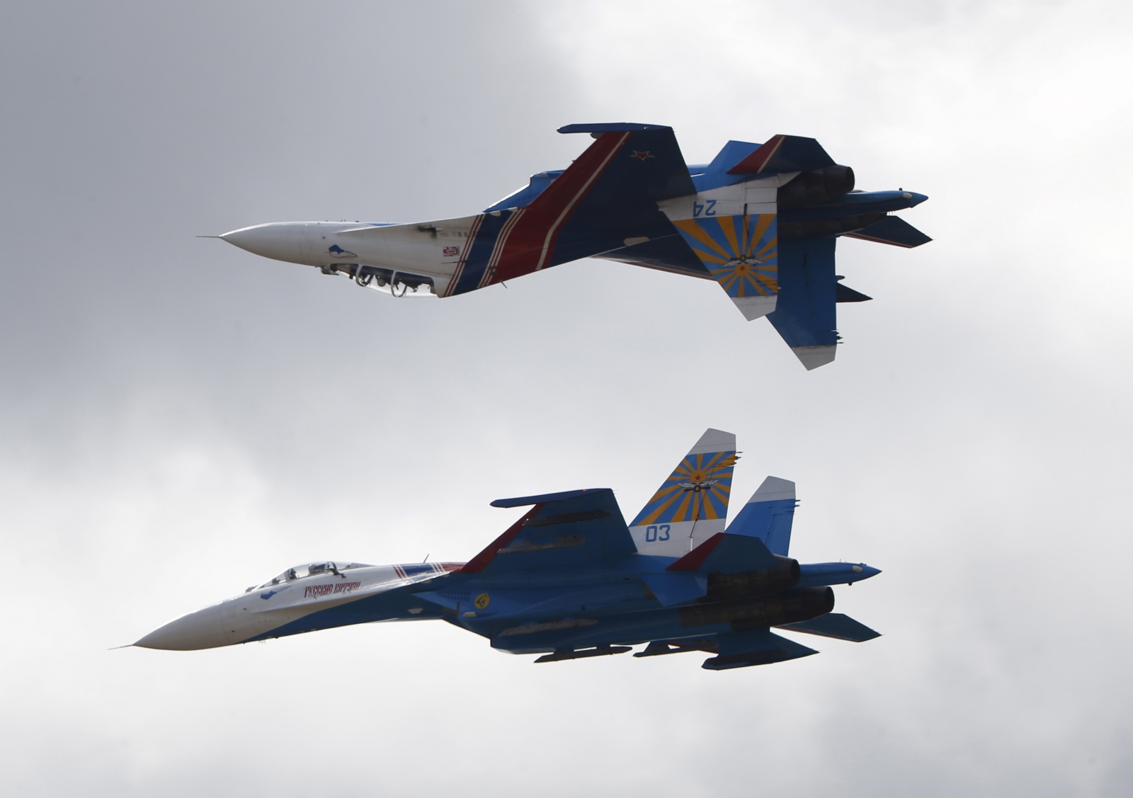Russian jet intercepted over Baltic Sea