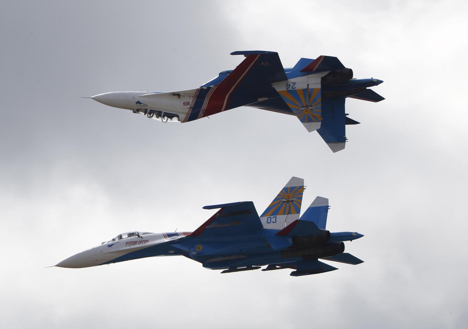 Russian jet intercepted over Baltic Sea