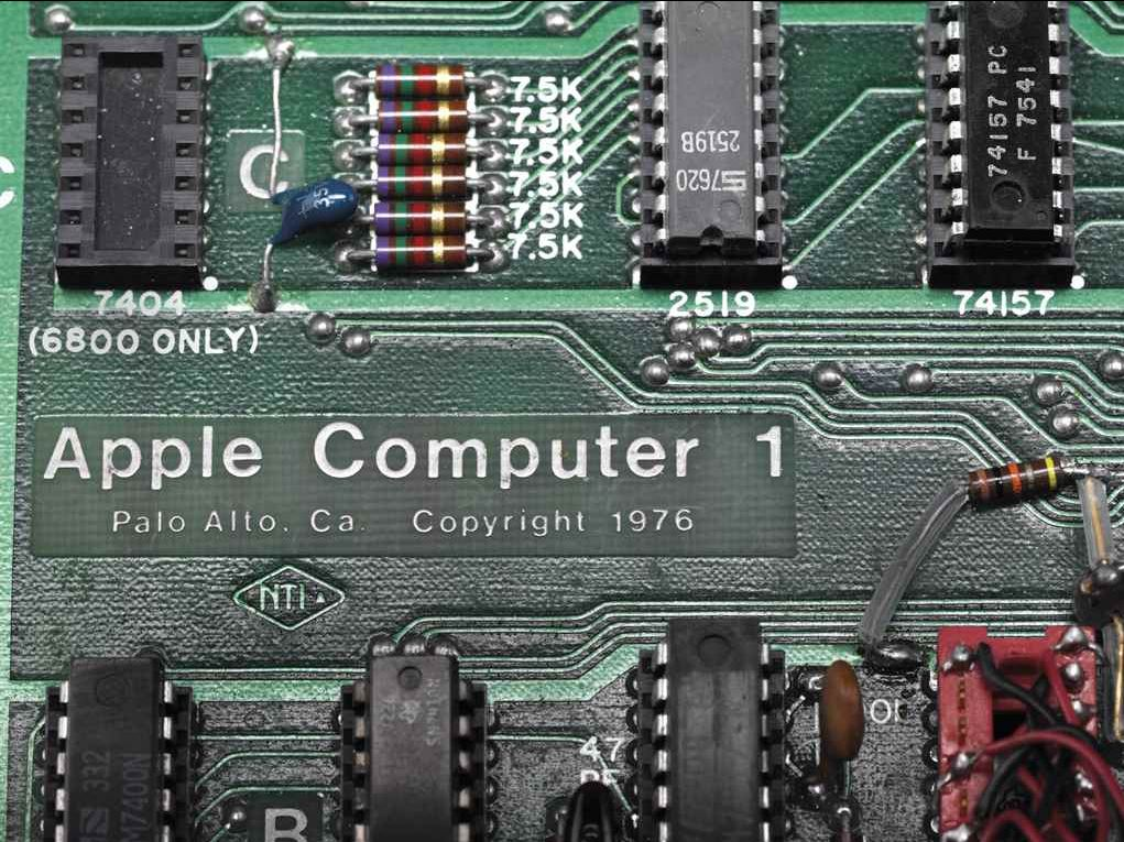 Apple-1 computer sold for $355,500