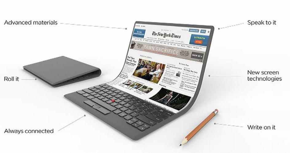 Lenovo laptop concept