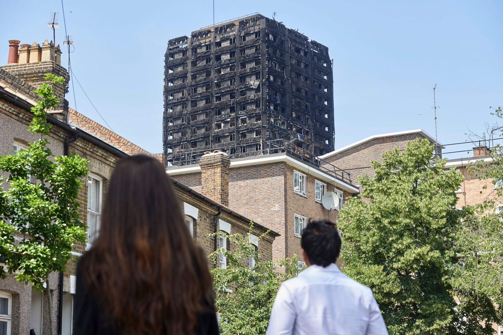 United Kingdom  acquires apartments for tenants displaced by tower fire