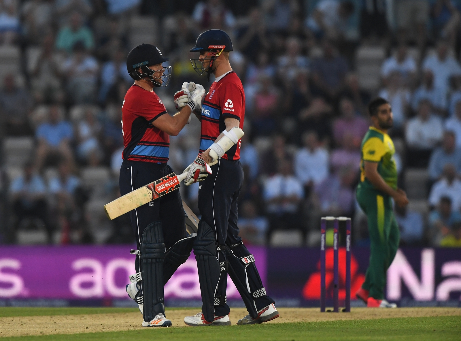 Alex Hales and Jonny Bairstow