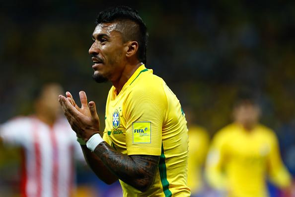 Reported Barcelona target 'Paulinho will not leave Guangzhou' - Scolari