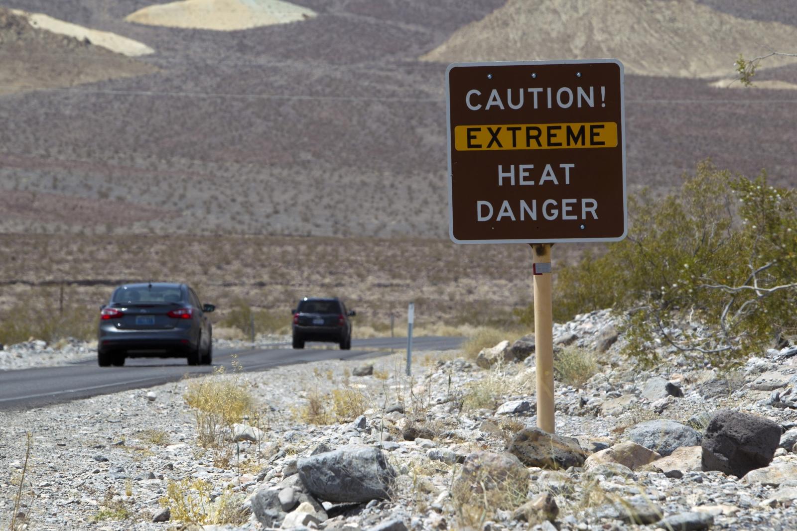 sweltering heat in U.S. Southwest