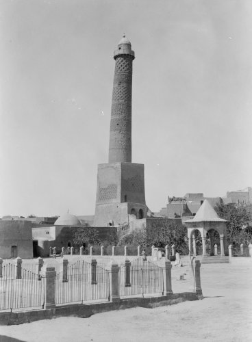Great Mosque of al-Nuri Al-Hadba minaret Mosul