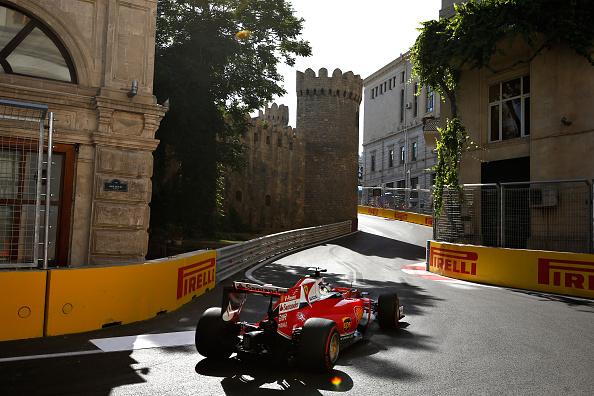 Baku f1 race