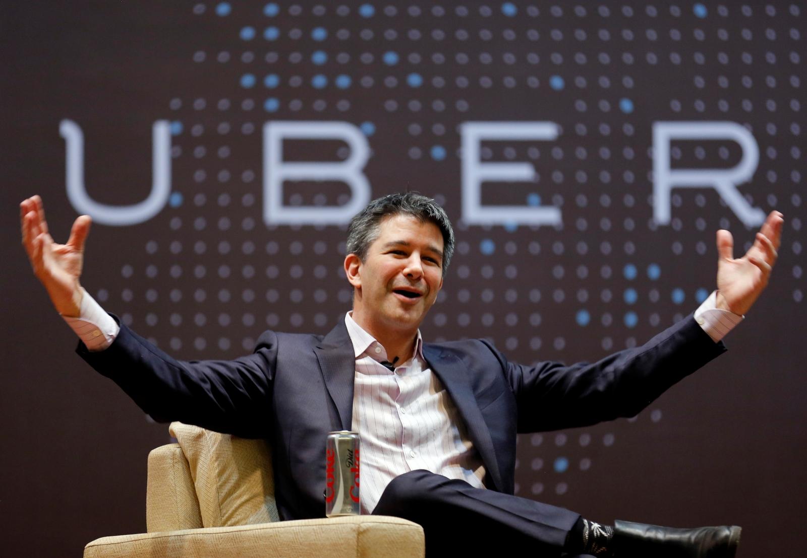 Uber co-founder Travis Kalanick