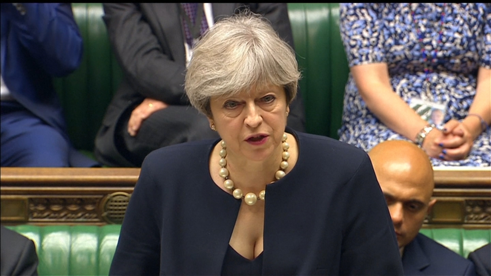 Theresa May says 'combustible' cladding used on other buildings