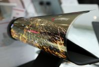 LG unveils 77in flexible, transparent display