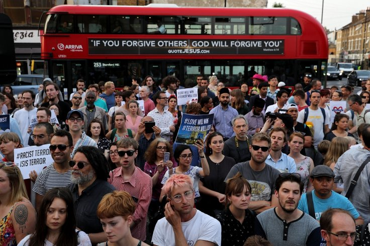 Finsbury Park Mosque vigil