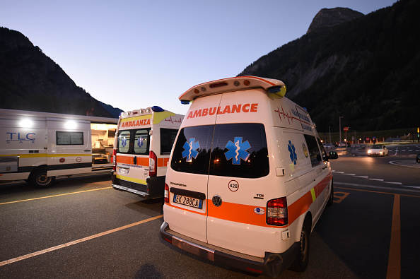 Ambulance in Italy