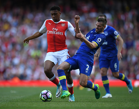 Alex Iwobi and Morgan Schneiderlin
