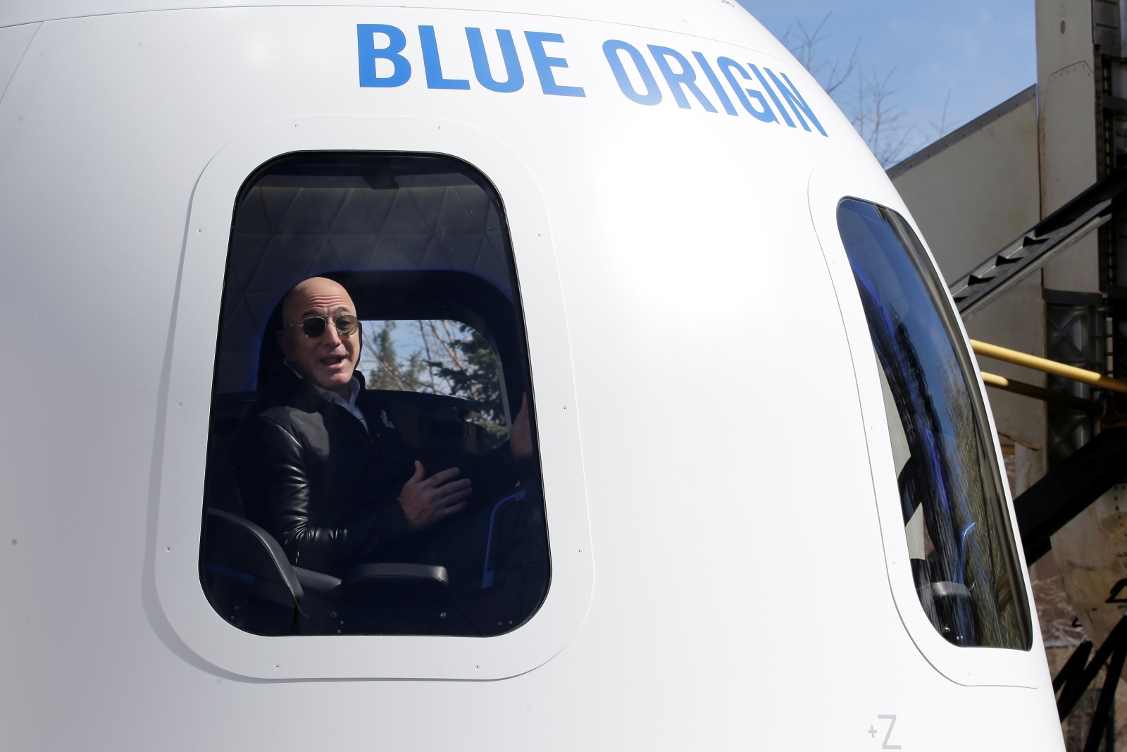 Blue Origin boss Jeff Bezos