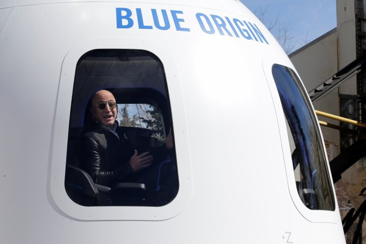 Blue Origin boss Jeff Bezos