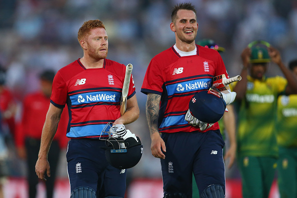 England's Jason Roy given out obstructing the field in T20I