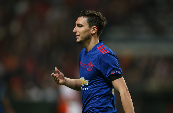 Matteo Darmian rings Jose Mourinho to say he wants Juventus move